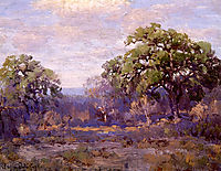 Brush Country Landscape, onderdonk