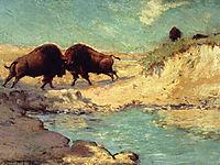 Buffalo Hunt, onderdonk
