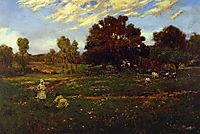 Fall Scene near Sisterdale, 1909, onderdonk