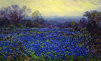 Field of Bluebonnets, onderdonk