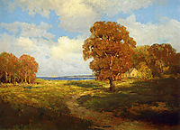 Glimpse of the Sea, Long Island, 1906, onderdonk