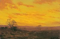 Golden Evening, Southwest Texas, onderdonk