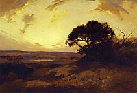 Golden Evening, Southwest Texas, 1911, onderdonk