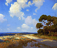 Hill Country Lane, 1911, onderdonk