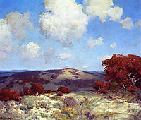 In the Hills of the Spanish Oaks, onderdonk