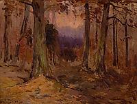 Landscape Sketch, 1909, onderdonk