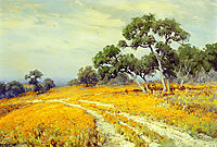 Landscape with Coreopsis, onderdonk