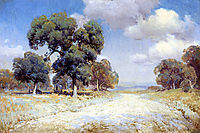 Landscape with Wagon, onderdonk