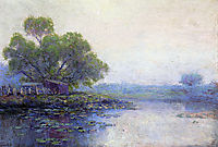 Morning on the Pond, onderdonk