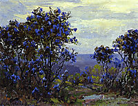 Mountain Laurel in Bloom, onderdonk