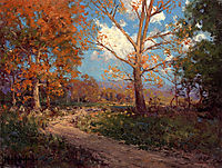 October Sunlight, 1911, onderdonk