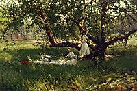 The Old Apple Tree, onderdonk
