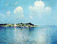 On Long Island Sound near Shelter Island, onderdonk
