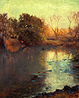 On The San Antonio River, 1910, onderdonk