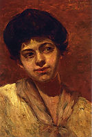 Portrait of Gertrude, 1902, onderdonk