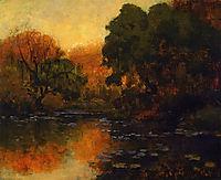 San Antonio River, 1920, onderdonk