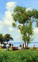 A Thousand Islands, St. Lawrence River, 1909, onderdonk