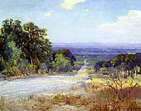 A White Road at Late Afternoon, 1921, onderdonk
