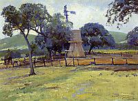 Windmill on Williams Ranch, onderdonk