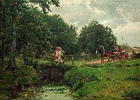 At the dam, c.1900, orlovsky