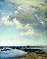 At the seashore, 1884, orlovsky