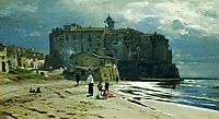 City on the seashore, c.1875, orlovsky