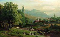 Crimean summer landscape, orlovsky