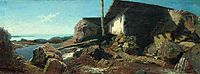 A house near the sea, 1871, orlovsky