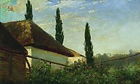 In the summer on the farm, c.1885, orlovsky