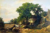 Landscape near Alushta, 1870, orlovsky