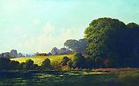 Landscape with pond, c.1878, orlovsky