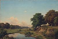 Landscape with pond, c.1885, orlovsky