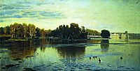 Pond. Summer evening., c.1895, orlovsky