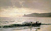 Seashore near Sudak, 1889, orlovsky