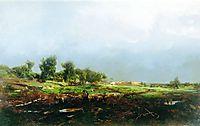 Storm in the field, orlovsky