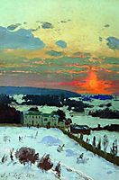 Sunset, 1896, orlovsky