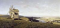 Ukrainian landscape, 1882, orlovsky