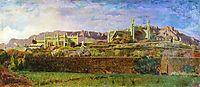 View of Alupka Palace, orlovsky