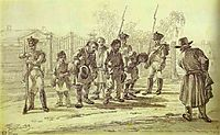 Convicts under Escort, 1815, orlowski