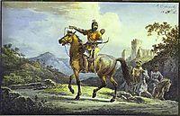 Horsemen, 1816, orlowski
