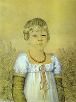 Portrait of a Girl, c.1815, orlowski