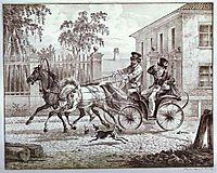 Town Carriage (Droshky), 1820, orlowski
