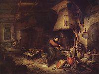 An Alchemist, 1661, ostadeadriaen