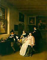 The De Goyer Family and the Painter, ostadeadriaen