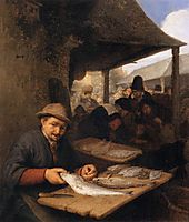 The Fishmarket, 1659, ostadeadriaen