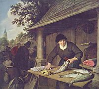 The Fishwife, 1672, ostadeadriaen