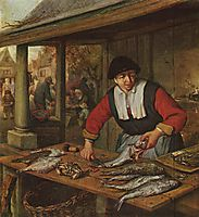 The Fishwife, c.1670, ostadeadriaen