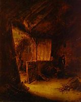 In a Barn, 1639, ostadeadriaen