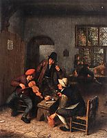 Interior of a Tavern with Violin Player, ostadeadriaen