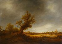 Landscape with an Old Oak, c.1640, ostadeadriaen